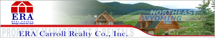 Sheridan Wyoming Property for Rent or Lease